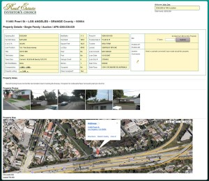 Sample Property Detail Page